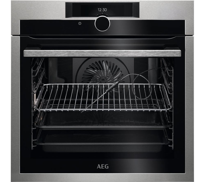 AEG , BPE842720M SENSECOOK - OVEN WITH PYROLYTIC CLEANING
