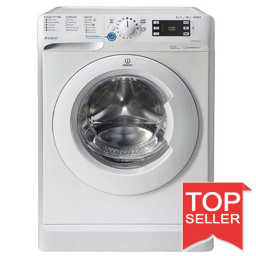Indesit BWE101684XW 10KG 1600 Spin Washing Machine -White