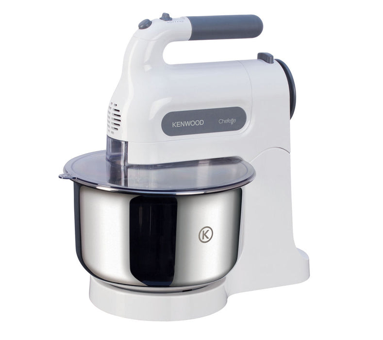 KENWOOD Chefette HM680 Hand Mixer with Bowl - White & Grey Product code: 064116