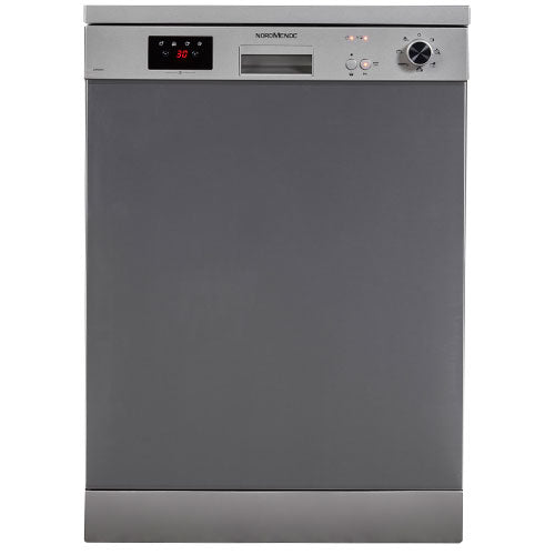 NordMende DW66IX Freestanding Dishwasher Stainless Steel
