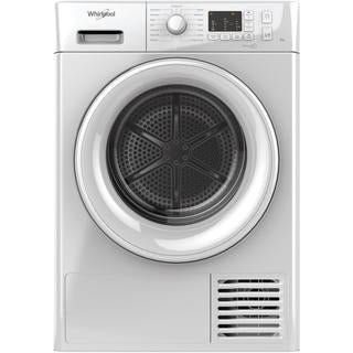 Whirlpool condenser tumble dryer: freestanding, 8kg - FT CM10 8B UK