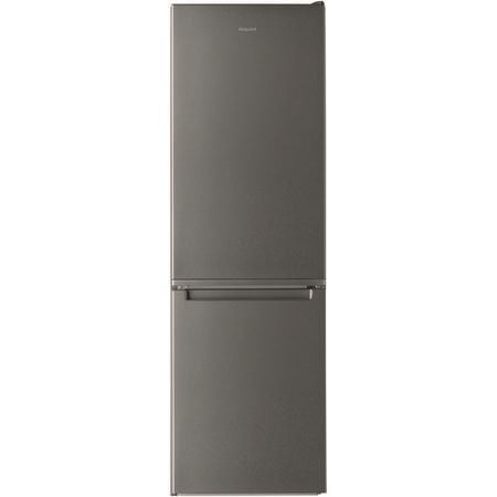 Hotpoint H3T811IOX1 338 Litre Freestanding Fridge Freezer 70/30 Split Low Frost 60cm Wide - Optic Inox H3T811IOX1