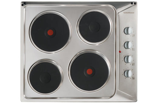 NORDMENDE , 60cm Solid Plate Electric Hob Code: HE62IX