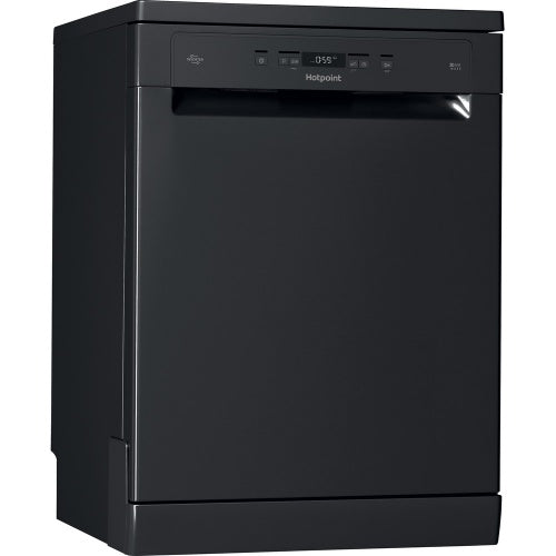 Hotpoint HFC 3C26 WC B Free standing Dishwasher 14 Place Setting Black