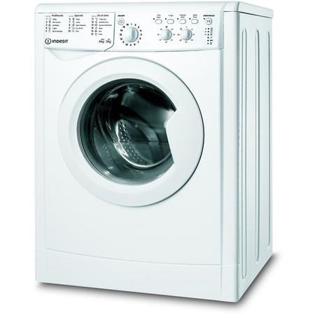 Indesit Ecotime 6KG/5KG 1200 Spin Freestanding Washer Dryer - White | IWDC65125UKN