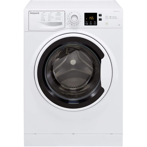HOTPOINT NSWA843CWWUK 8KG WASHING MACHINE FULL LOAD IN 45MINS