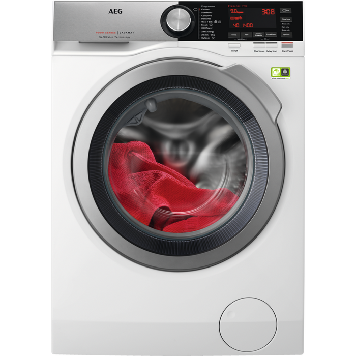 AEG L9FEC966R 9000 SERIES WASHING MACHINE WITH SOFT WATER