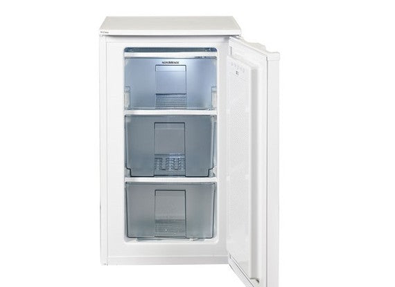 NORDMENDE 55CM UNDER COUNTER FREEZER RUF148WHA