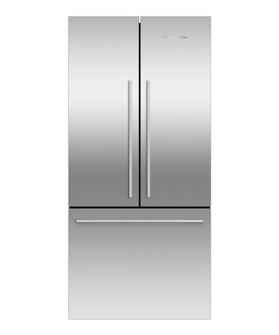 FISHER & PAYKEL , RF522ADX4 ActiveSmart™ Refrigerator - 790mm French Door American Style 443L