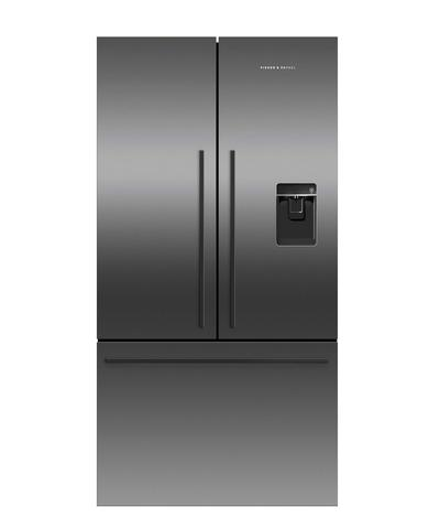 FISHER & PAYKEL RF540ADUB5 ActiveSmart™ Fridge - 900mm French Door American Style with Ice & Water 541L