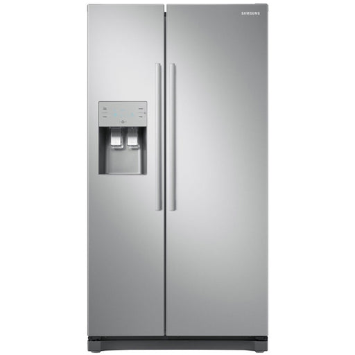 Samsung NoFrost Freestanding American Fridge Freezer - Clean Steel | RS50N3513SA 5 Years Part & Labour upon Registration