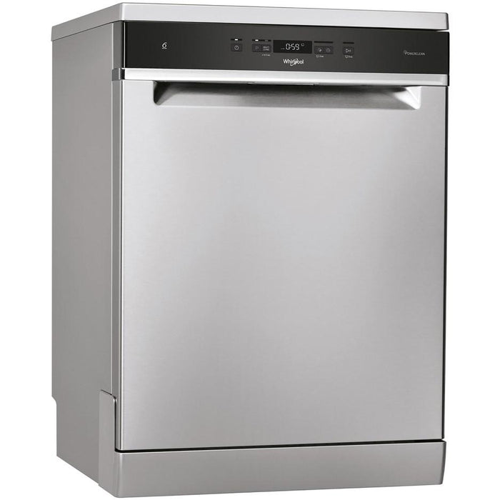 WHIRLPOOL 14 PLACE STAINLESS STEEL FREESTANDING DISHWASHER -WFC3C33PFXUK