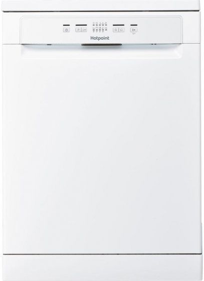 Hotpoint HFC2B19UK, 13 Place, A+, Freestanding, Dishwasher, White