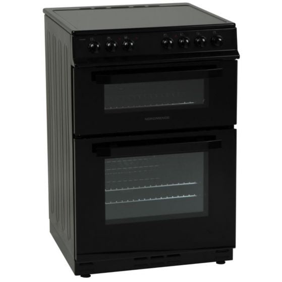NORDMENDE CTEC61BK TWIN CAVITY 60CM COOKER 3 YEARS PARTS AND LABOUR