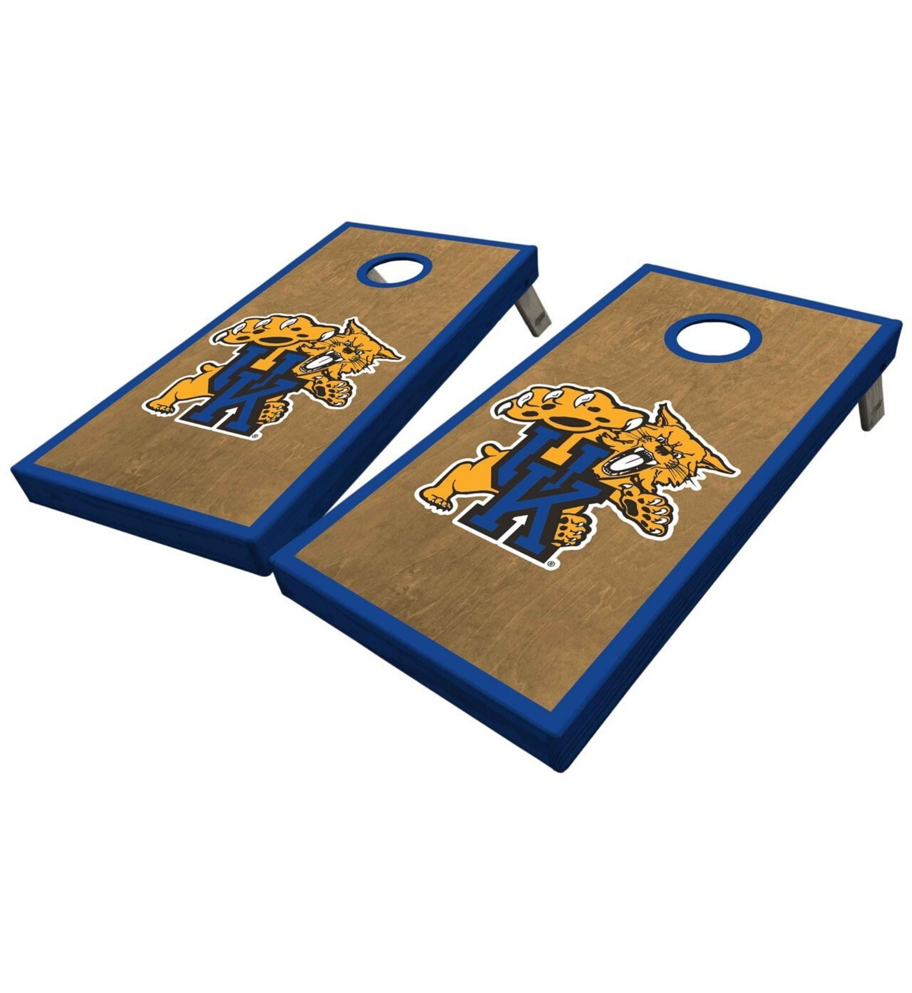 Regulation university of Kentucky cornhole boards. Customizable premium quality cornhole set.