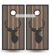 Hunting theme cornhole set. Buck Deer.