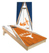 Regulation university of texas austin cornhole boards. Customizable premium quality cornhole set.