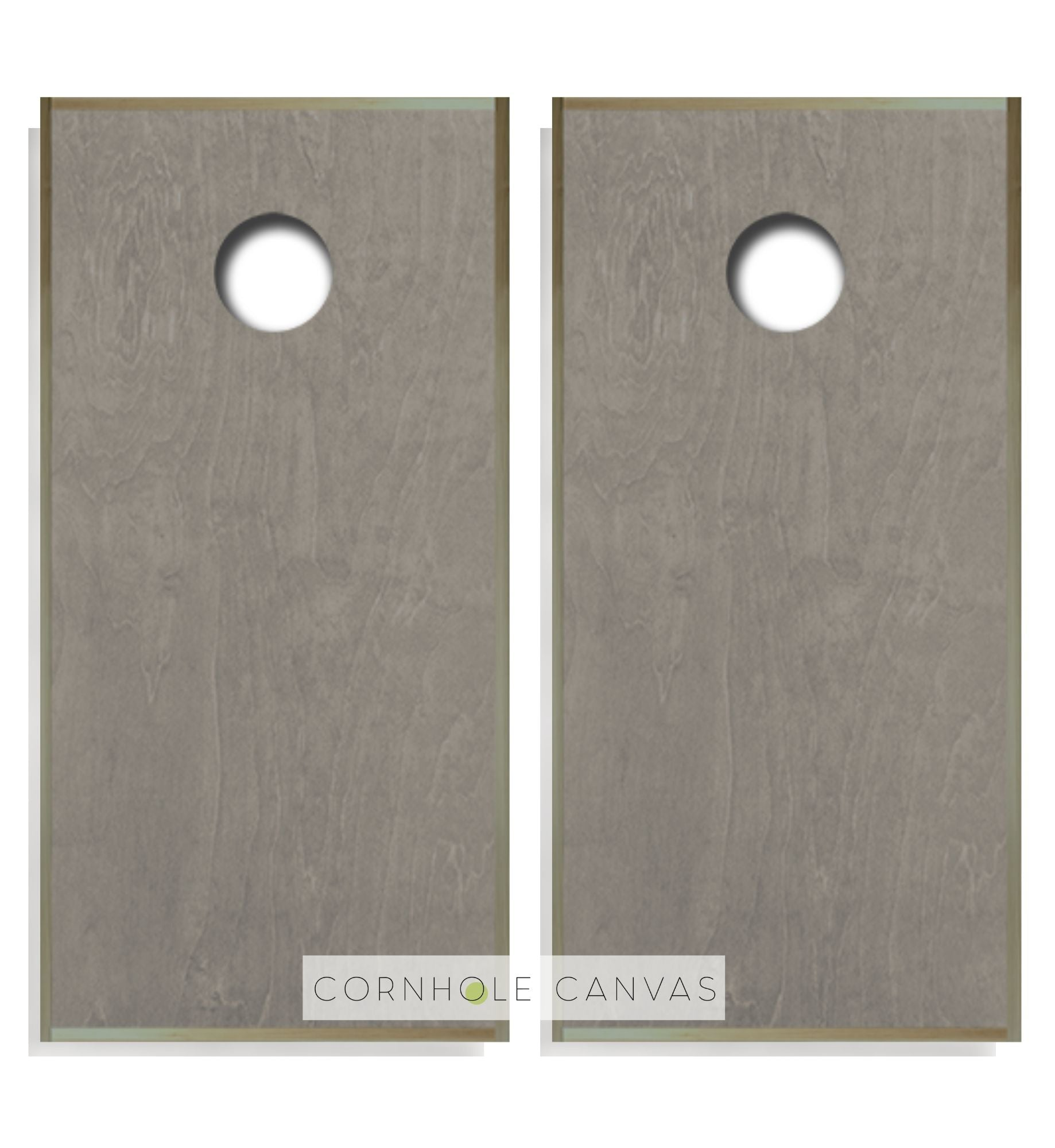 Regulation cornhole boards. Customizable set. Weathered Grey. Premium quality.