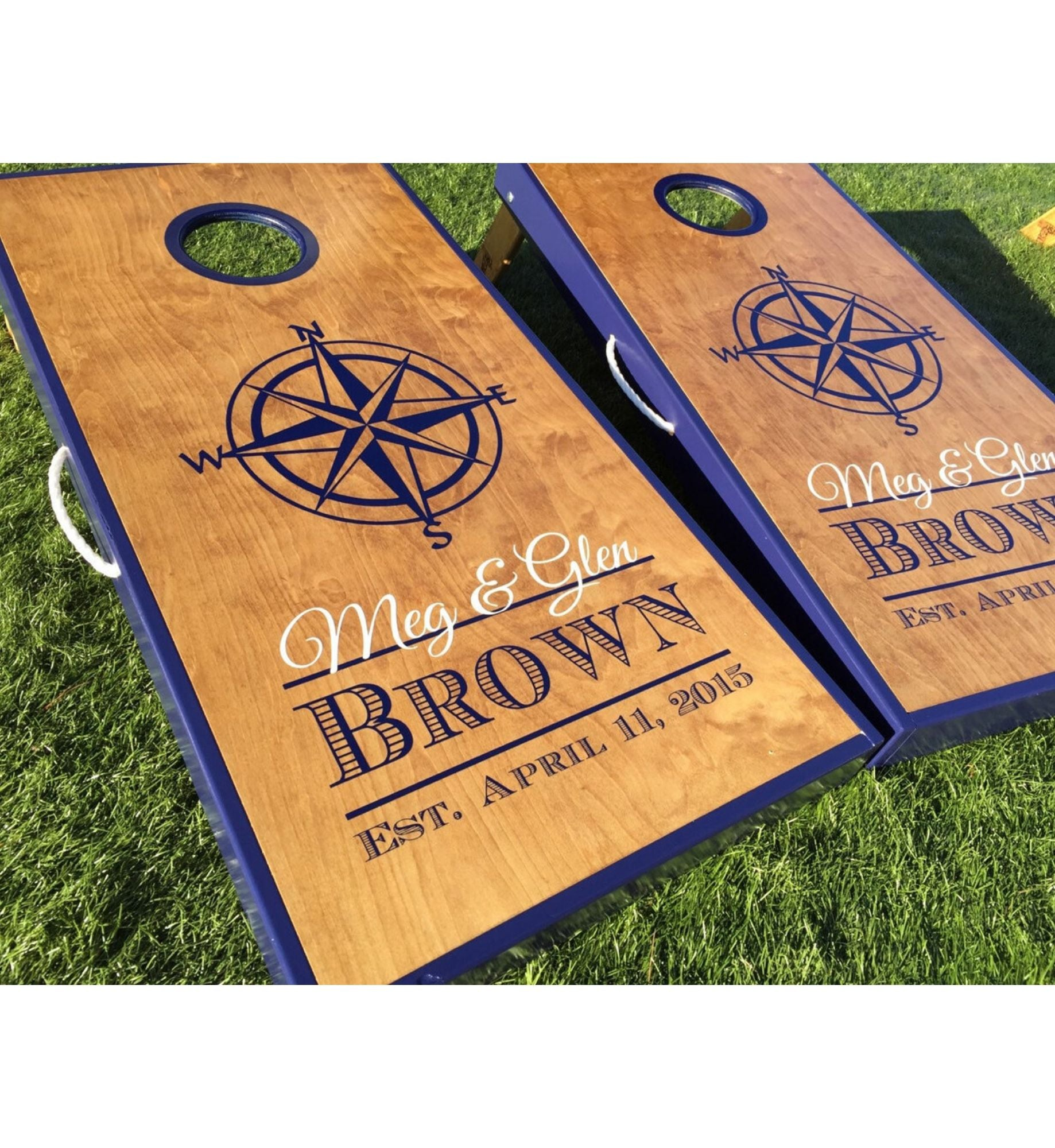 Compass Cornhole Boards