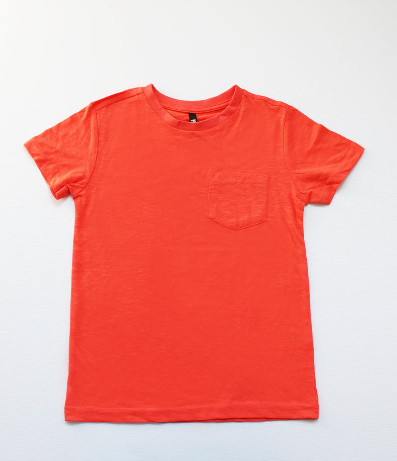 BOYS POCKET T/SHIRT