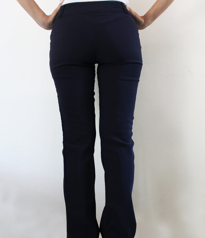 LADIES NAVY PANTS