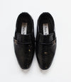 BOYS BLACK FORMAL SHOES