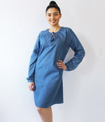 LADIES DENIM DRESSES