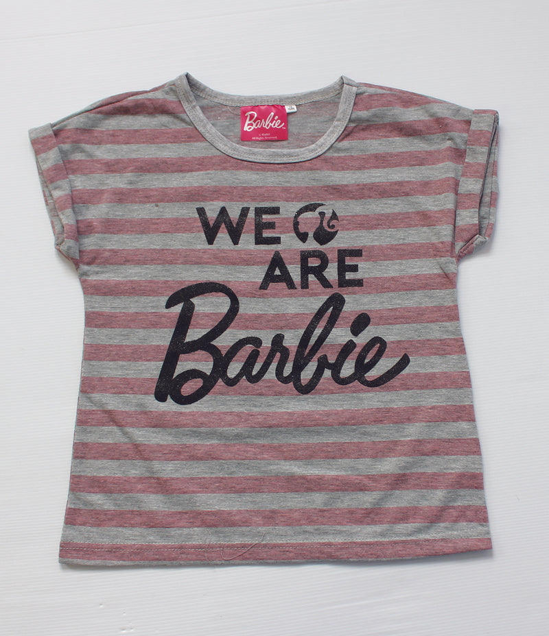 GIRLS BARBIE T/SHIRTS