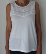LADIES WHITE TOPS