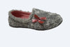 Ladies grey slippers