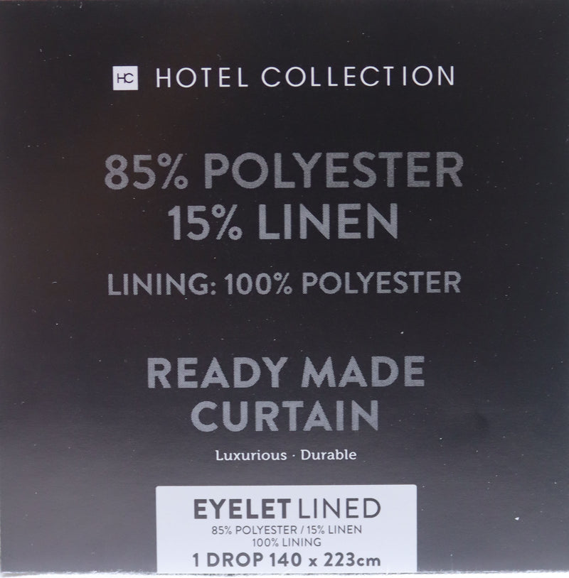 Curtains Eyelet Lined Cream