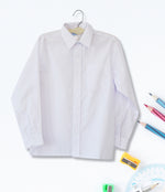 Boys Long Sleeve Shirt - White