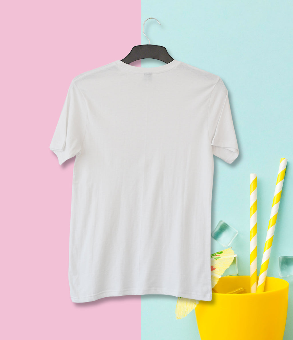 Short Sleeve Cotton T-shirt - White