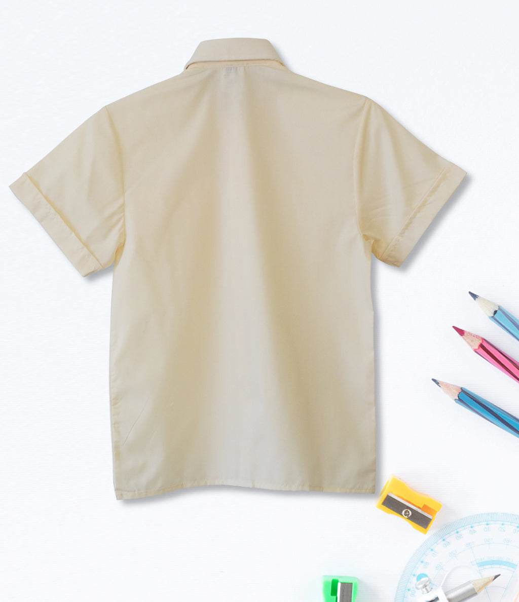 Short Sleeve Shirt - Cream