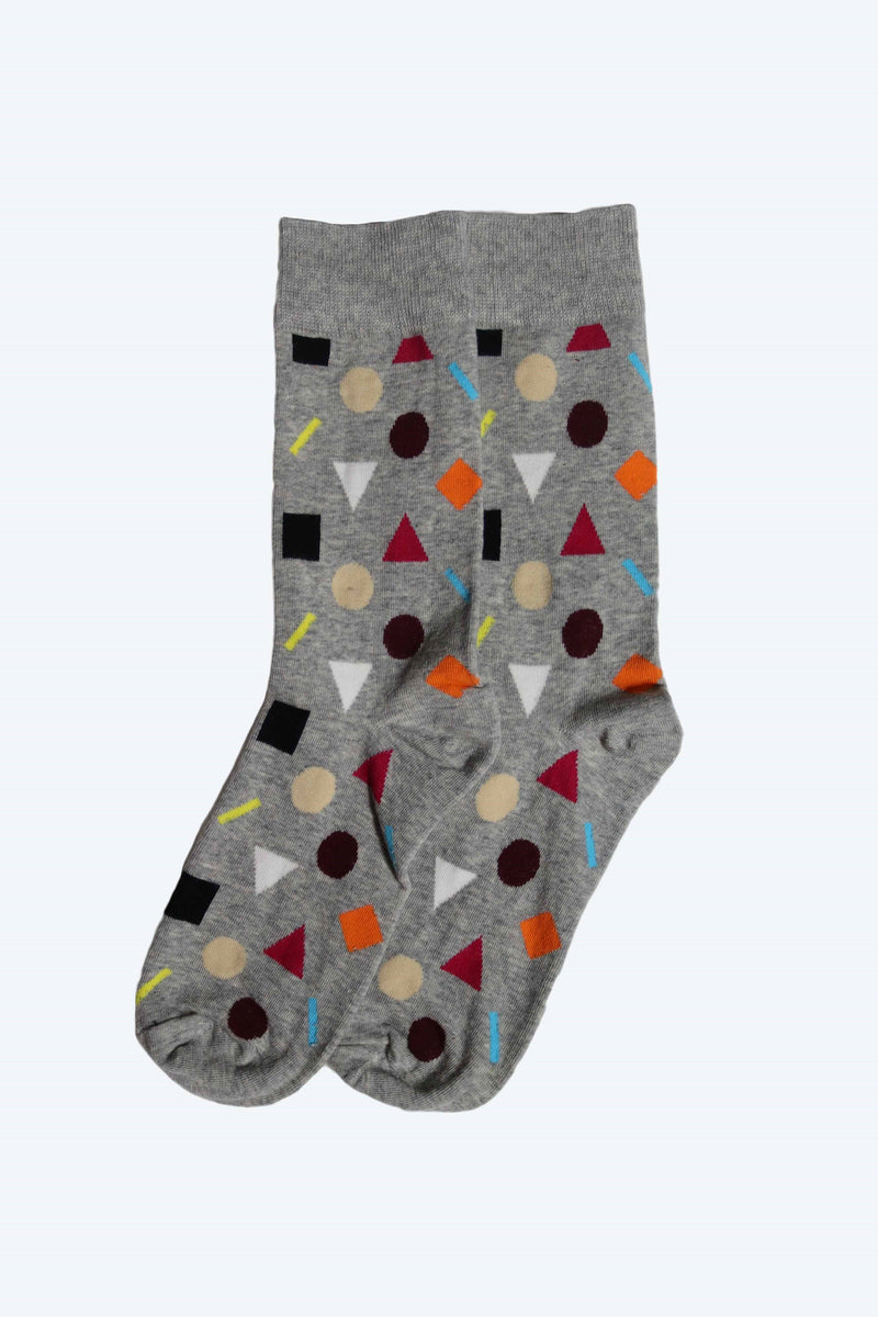 MENS HAPPY SOCKS SHAPES