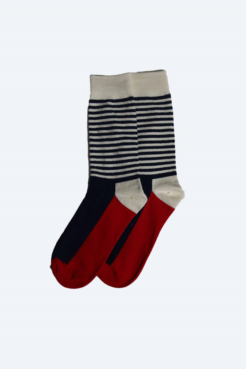 MENS HAPPY SOCKS THIN STRIPE
