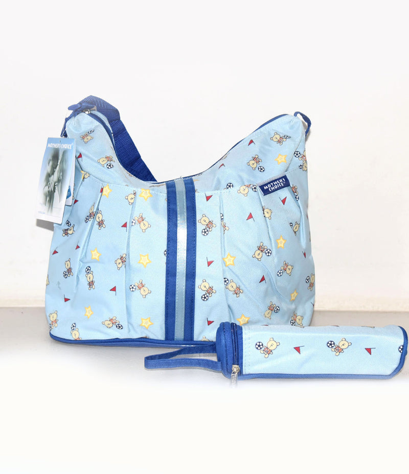 Blue Nappy Bag