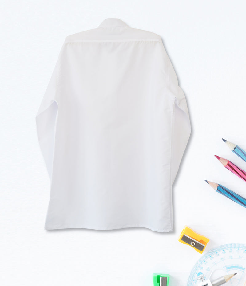 Mens Long Sleeve Shirt - White