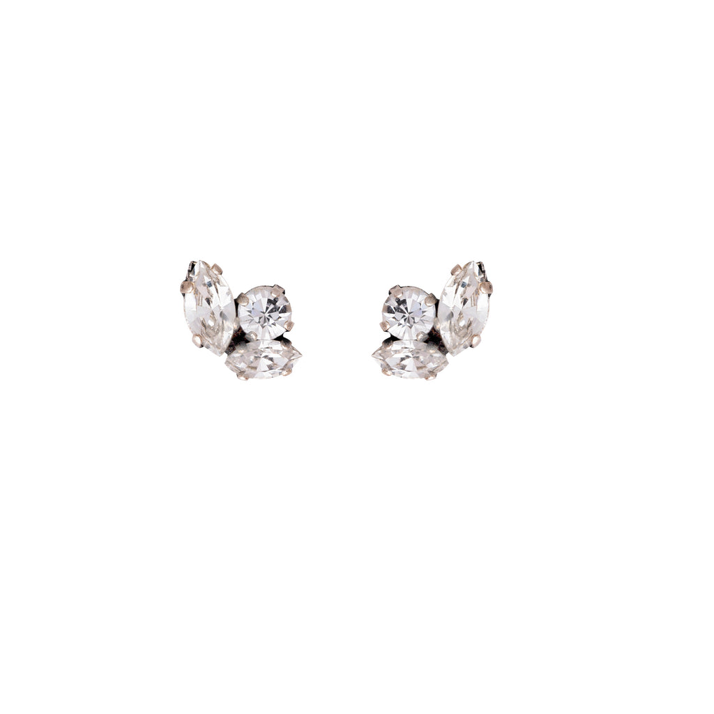 Baby D Earrings in silver tone - ViaRothstein