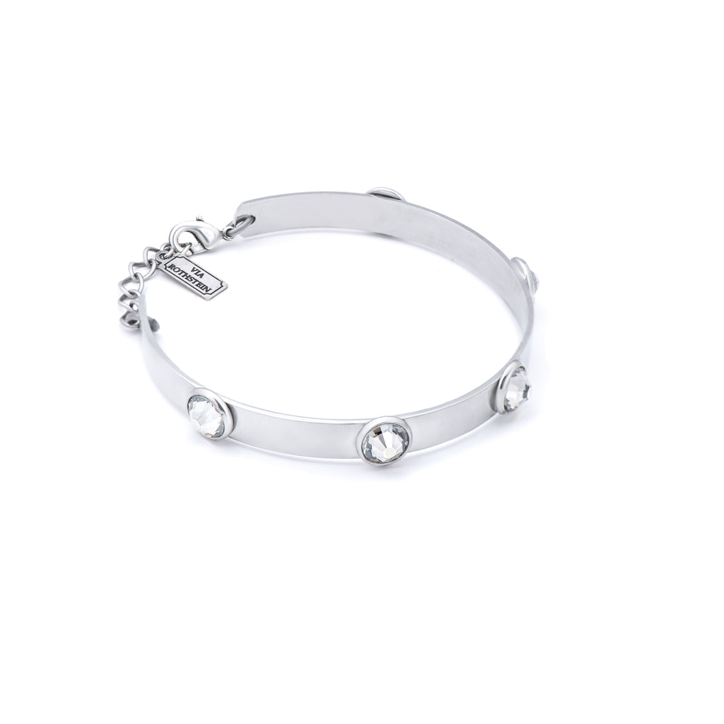 Bubble Bracelet in silver tone - ViaRothstein