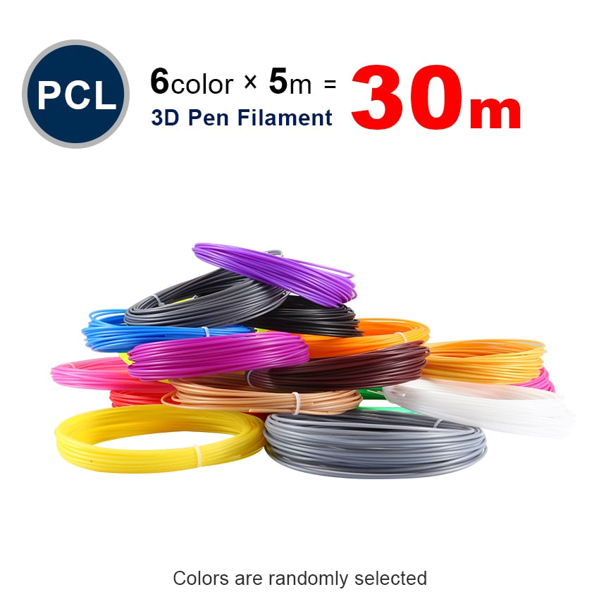 PCL 1.75mm filament 20 colors