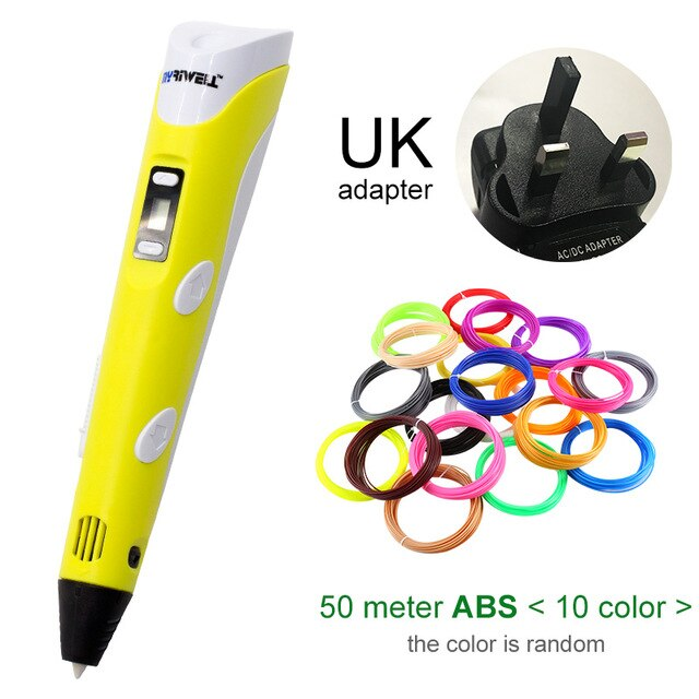 3D Pen With ABS Filament 1.75mm
