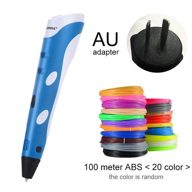 3D Pen with 1.75mm ABS