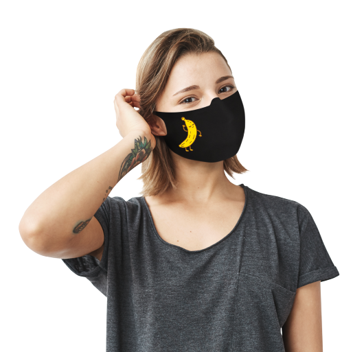 Banana Bread Face Mask - Cloth