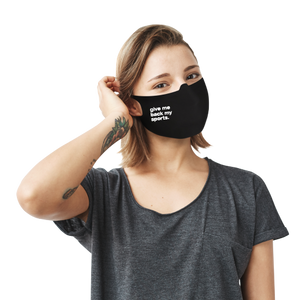 Give Me Back My Sports Face Mask - Cloth