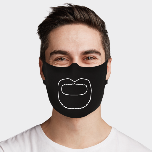 The Louis Face Mask - Cloth
