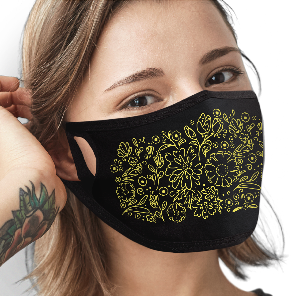 Patterns - 10 Pack Face Mask - Cloth