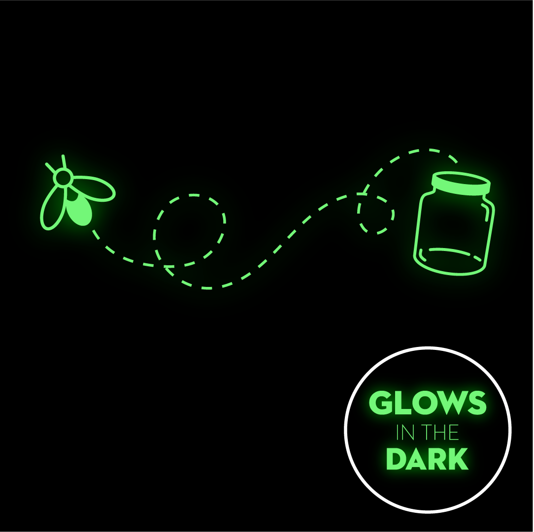 Catch A Firefly - Glow In The Dark Face Mask - Cloth