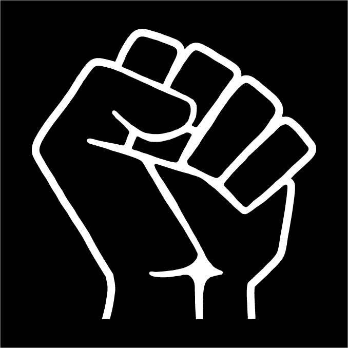 Raised Fist - Black Lives Matter