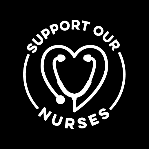Support Our Nurses Face Mask - Cloth
